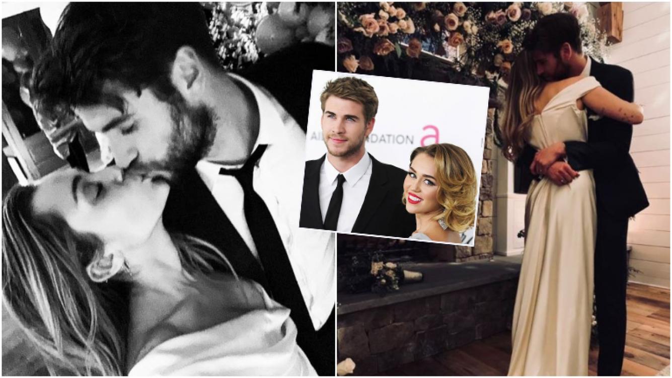 historia de amor de Miley y Liam Boda