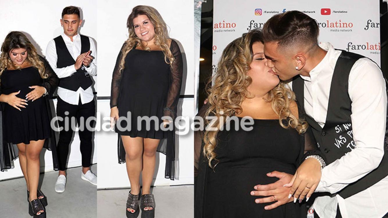 1cb134219ed Morena Rial y Facundo Ambrosioni, enamorados en el lanzamiento como  cantante de ella (Fotos