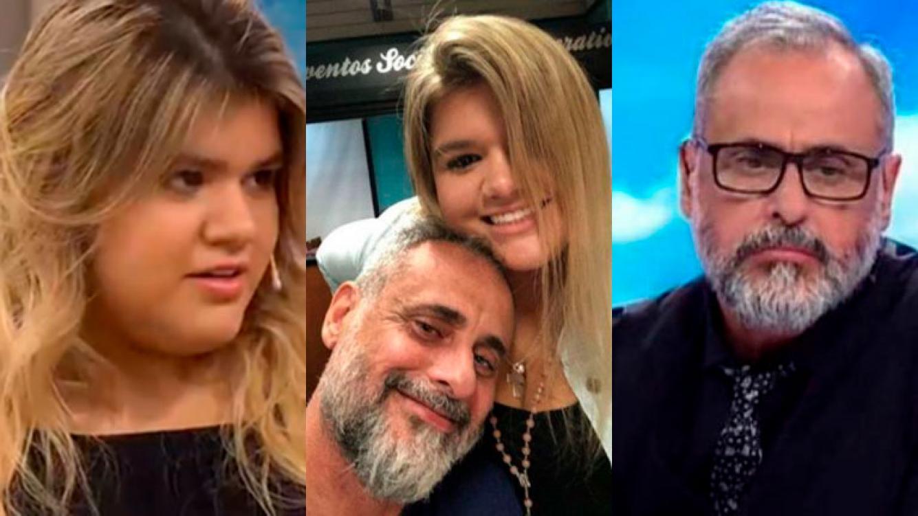 Morena Rial contó detalles de su relación actual con su papá.