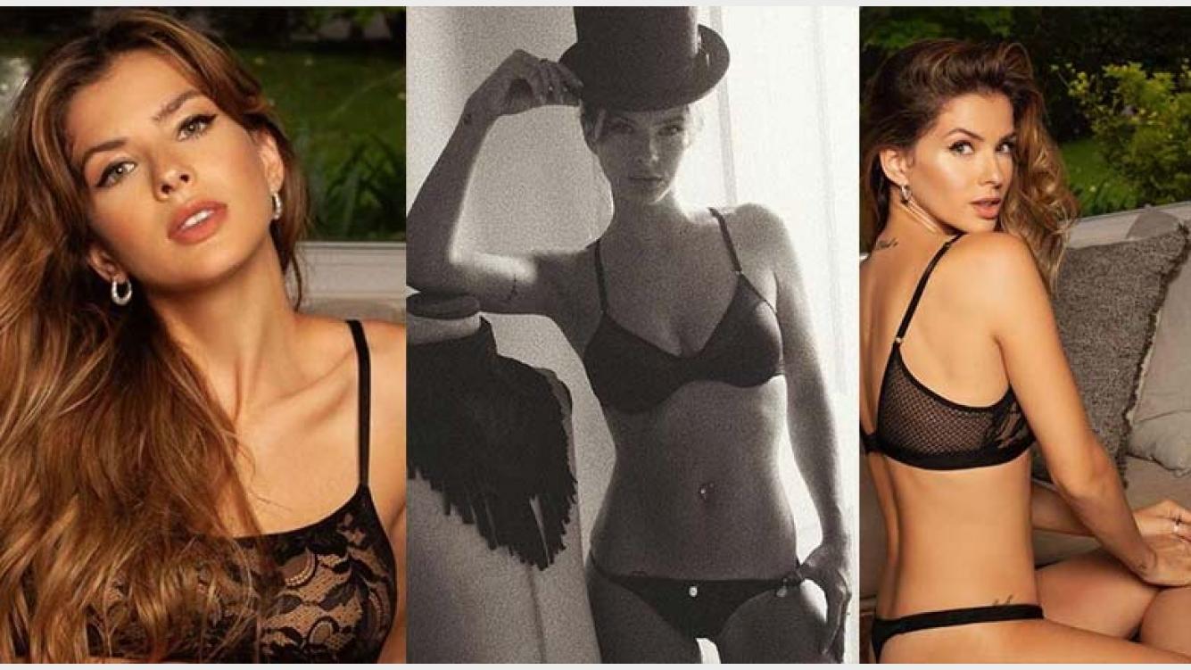 698aa90e674e Las fotos de la nueva campaña de ropa interior de la China Suárez ...