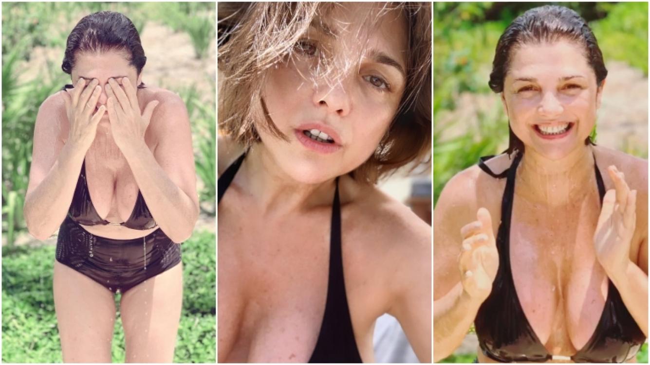 Resultado de imagen para Araceli González, al natural y a pura sensualidad en la Riviera Maya