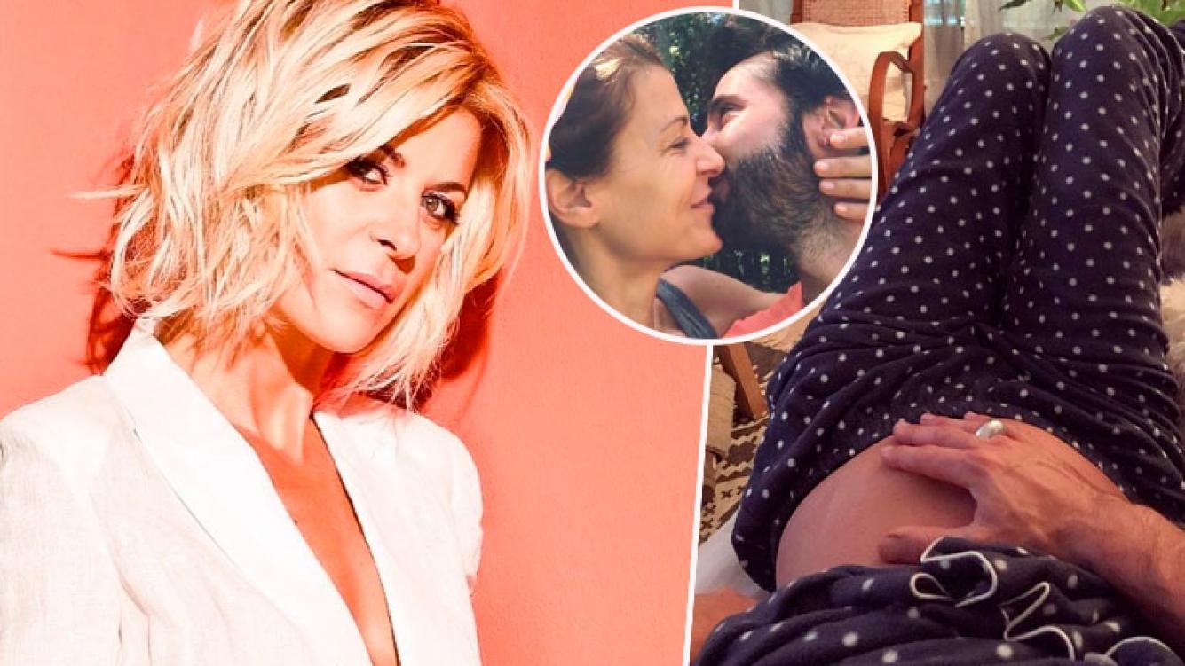 Eugenia Tobal mostró su pancita, embarazada de tres meses... ¿y un ...