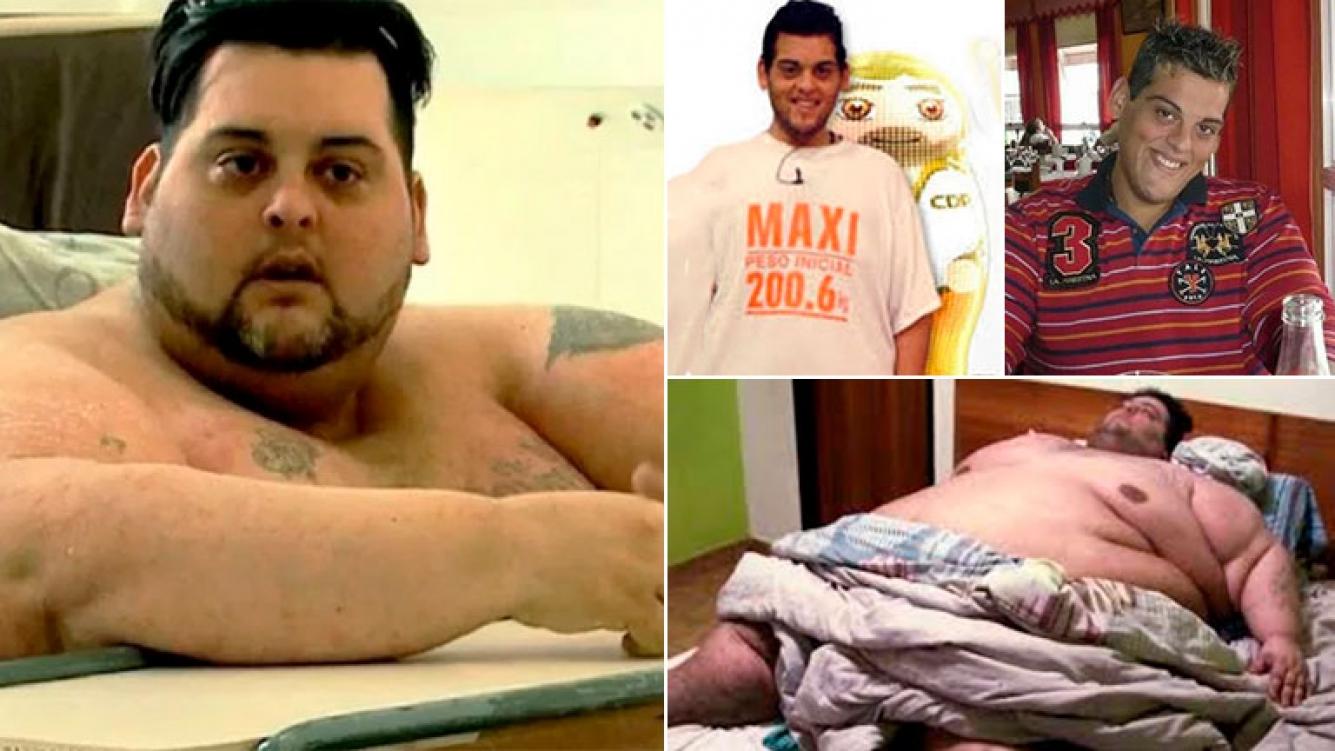Murió el primer ganador de Cuestión de Peso, Maxi Oliva: el joven tenía 34 años y pesaba 500 kilos