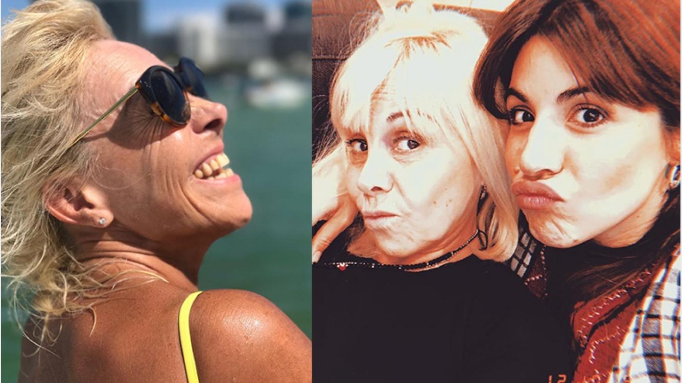 Gianinna Maradona y un mensaje a Claudia Villafañe en ...