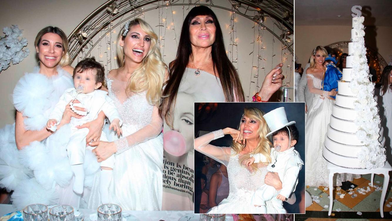 Las fotos del cumpleañitos de Salvador Uriel, el hijo de Vicky Xipolitakis. (Foto: Movilpress)