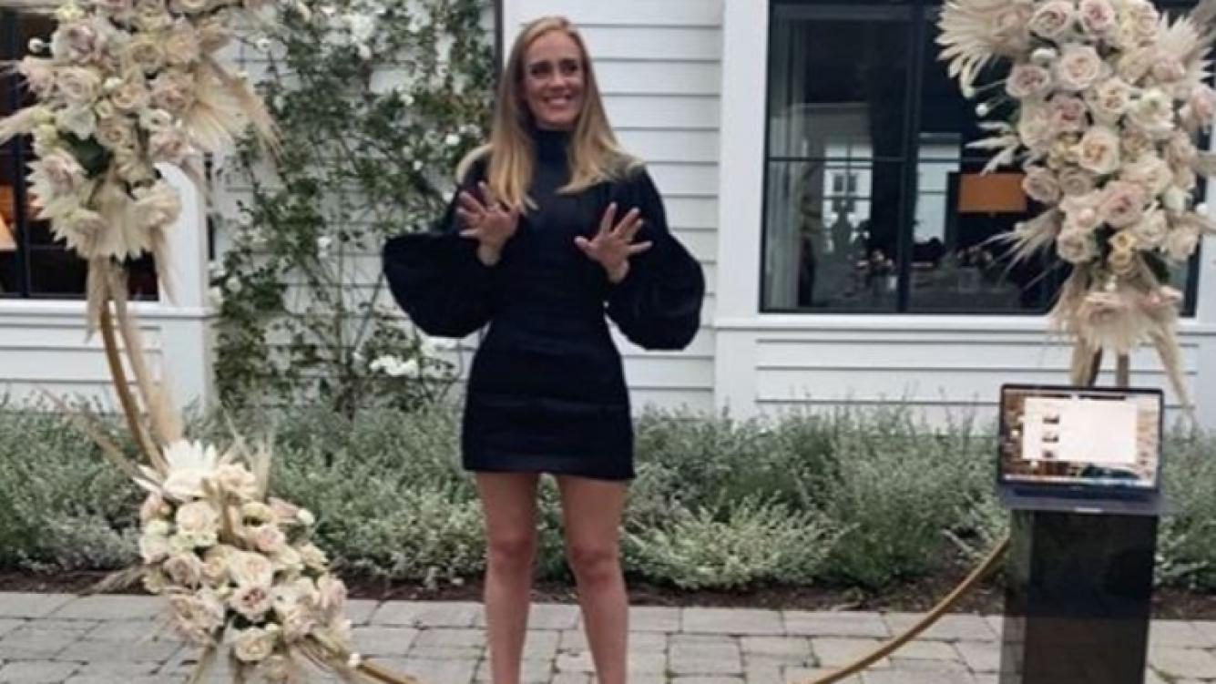 Qué diosa! Adele apareció en las redes sociales y mostró su ...