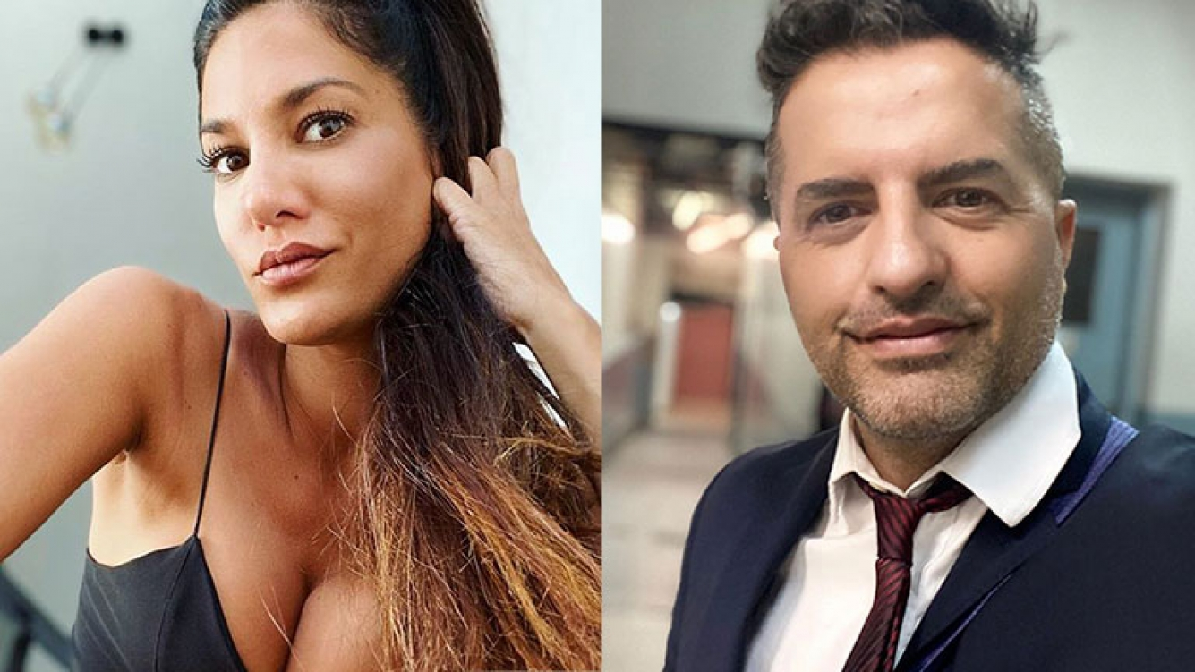 Silvina Escudero le contestó a De Brito por las críticas a su desnudo: ¿Qué querés que haga si tengo los dedos así?