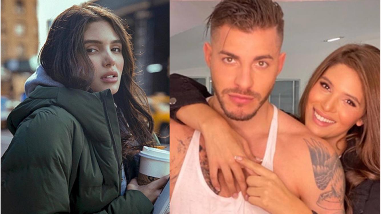 """Lhoan, el ex de Charlotte Caniggia, ¿enamorado? de una chica trans colombiana: """"Nos besamos; es una mujer hermosa"""""""