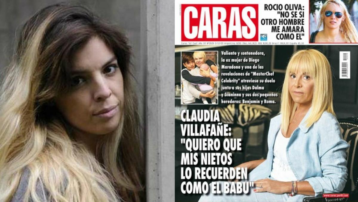 Dalma Maradona Furiosa Con Caras Por La Tapa Con Claudia Villafane Otra De Las Jugadas Asquerosas De La Revista Ciudad Magazine