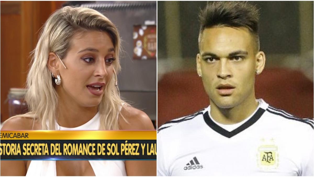 Resultado de imagen para Sol Pérez confirmó que tuvo un noviazgo con Lautaro Martínez y reveló el motivo de su separación