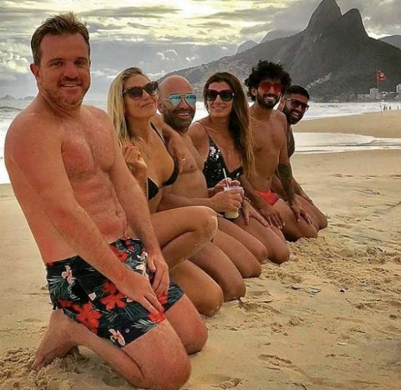 """Las divertidas vacaciones de Florencia de la Ve con amigos en Río de Janeiro: """"La vida es maravillosa"""""""