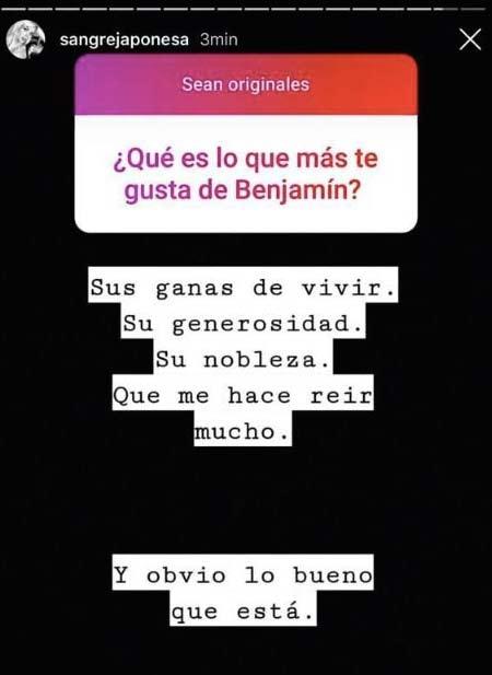 """China Suárez reveló qué es lo que más le gusta de Benjamín Vicuña: """"Sus ganas de vivir ¡y lo bueno que está!"""""""