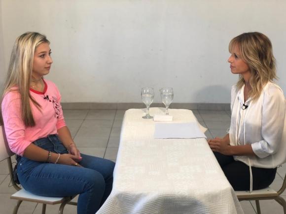 Nahir Galarza, entrevistada en exclusiva por Mariana Fabbiani en el penal de Paraná