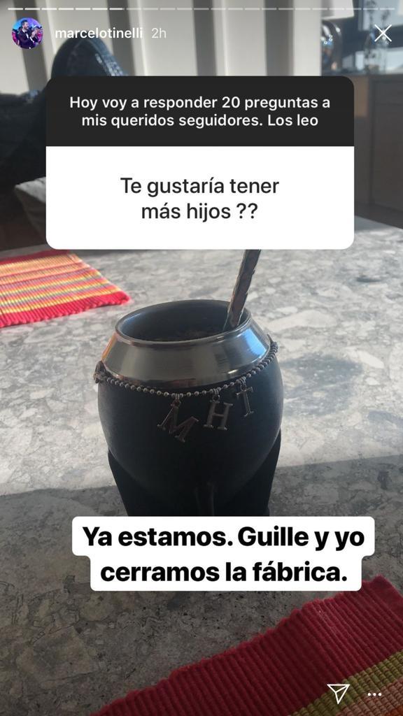 La contundente respuesta de Marcelo Tinelli cuando le preguntaron si tendrá más hijos con Guillermina Valdés