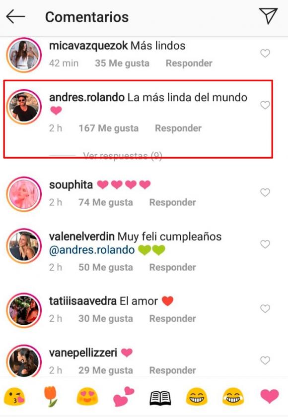 Las fotos de Julieta Nair Calvo, súper enamorada de su novio, Andrés Rolando:
