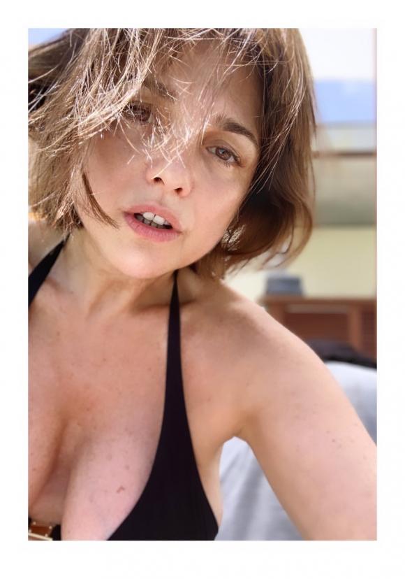 Araceli González, al natural y a pura sensualidad en la Riviera Maya
