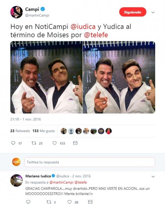 """Denise Dumas recordó una pelea que tuvo con Mariano Iúdica: """"Campi casi lo cag… a trompadas en ShowMatch"""""""