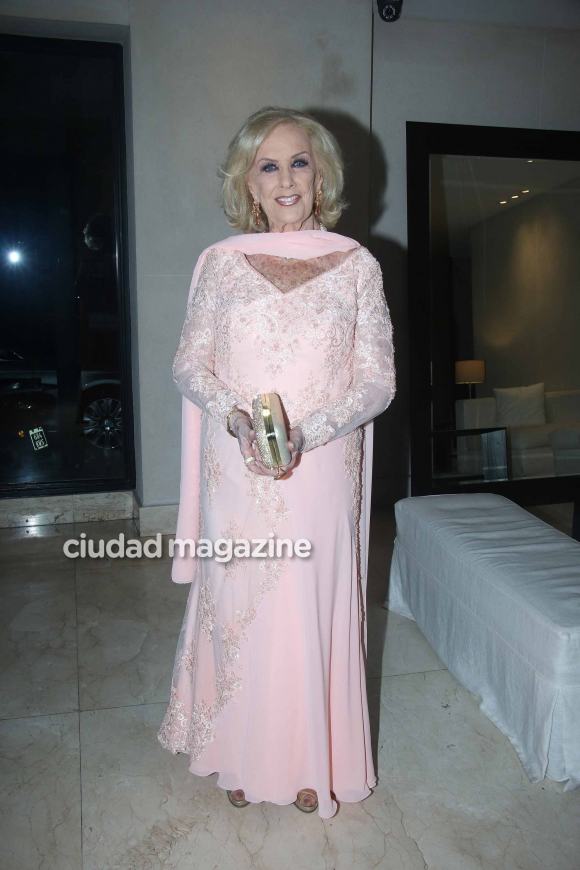Every birthday of Mirtha Legrand's birthday: family, friends ... and celebrate until the morning!