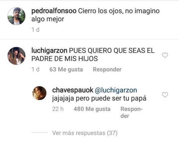 El comentario de una seguidora de Pedro Alfonso por el que Paula Chaves tuvo que intervenir
