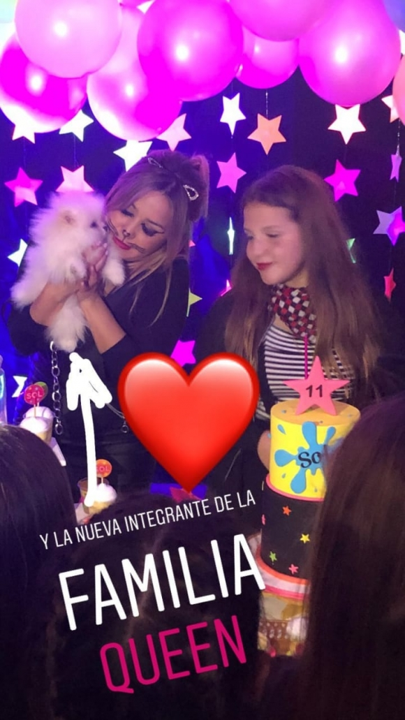 Karina La Princesita festejó el cumpleaños de su hija... ¡con una ...