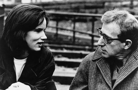 Juliette Lewis junto a Woody Allen. (Foto: Web)