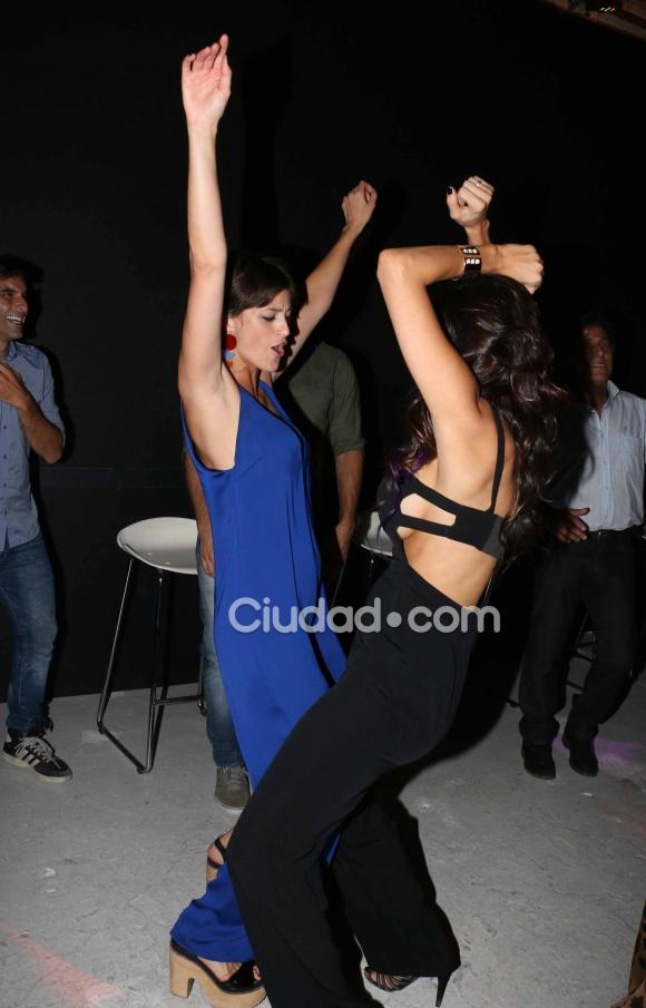 Andrea Rincón y Mónica Antonópulos, sexies y divertidas. (Foto: Movilpress-Ciudad.com)