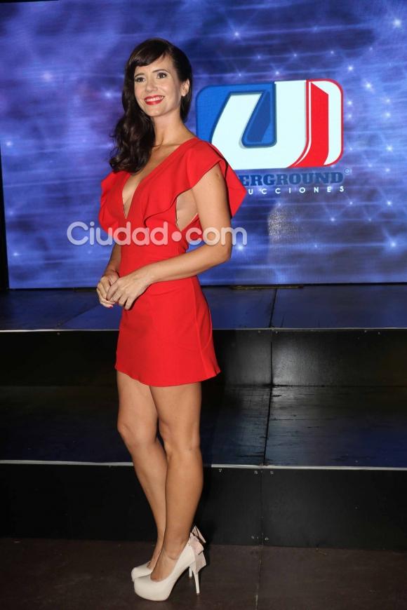 Griselda Siciliani posó para Ciudad.com en la presentación de Educando a Nina. (Foto: Movilpress-Ciudad.com)
