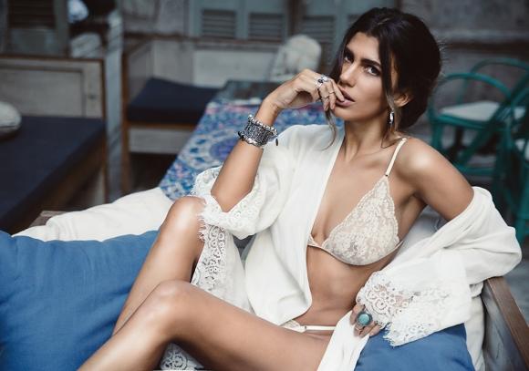 Lis Moreno, la ex Rebelde Way que se creció y mostró su lomazo. (Foto: Playboy)