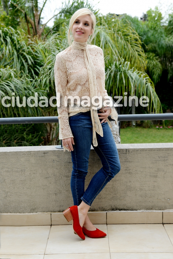Carla Peterson en una producción imperdible para Ciudad (Fotos: Musepic).