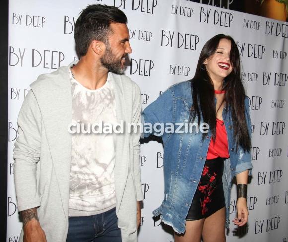 Cubero conoció a la ex de Facundo Moyano y se reencontró con Barbie (Fotos: Movilpress).