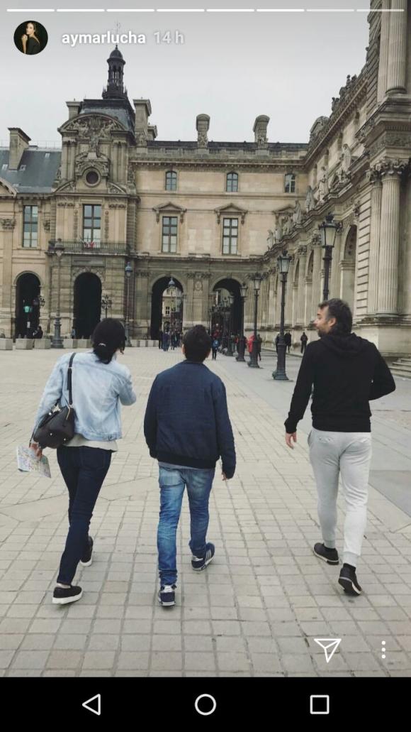 ¡Amor en París! Las fotos del romántico viaje de Luciana Aymar y Fernando González