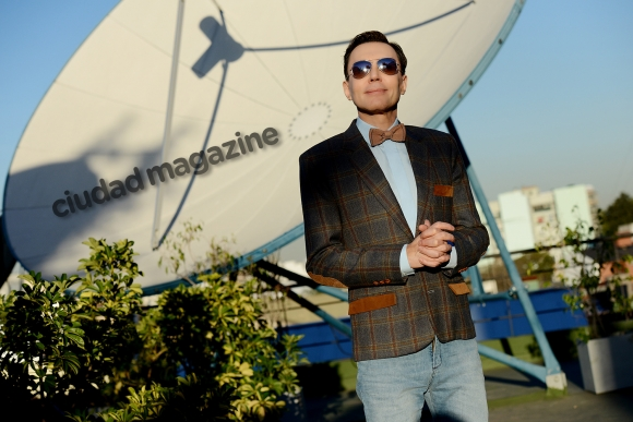 Marcelo Polino, lejos del personaje de TV (Fotos: Musepic)
