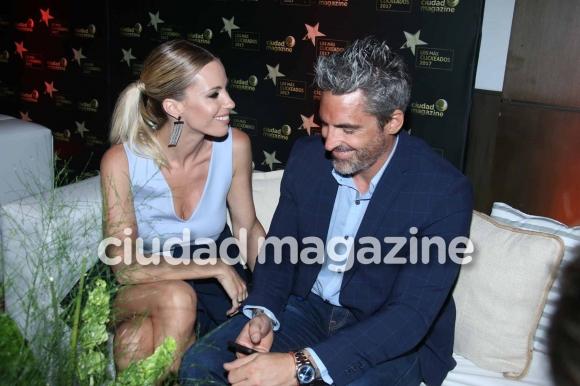 Nicolás Paladini y Rocío Guirao Díaz. (Foto: Movilpress)