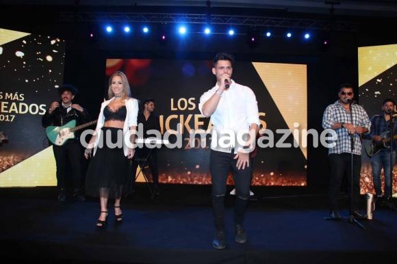 El show de Arturitos con Lucas Velasco. (Foto:Movilpress)