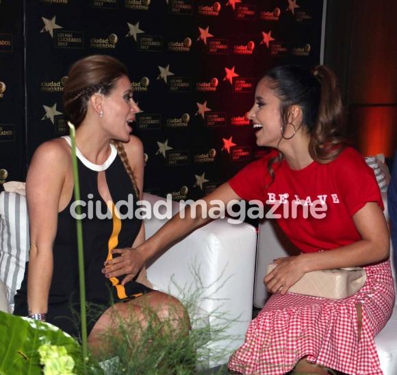 Lourdes Sánchez y Jésica Cirio. (Foto: Movilpress)