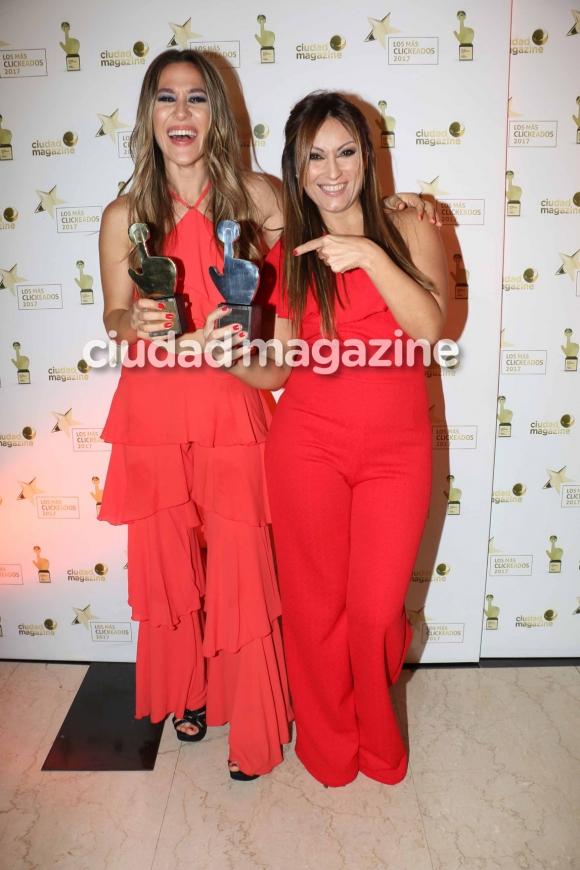 Jimena Barón y Marcela Tauro. (Foto: Movilpress)