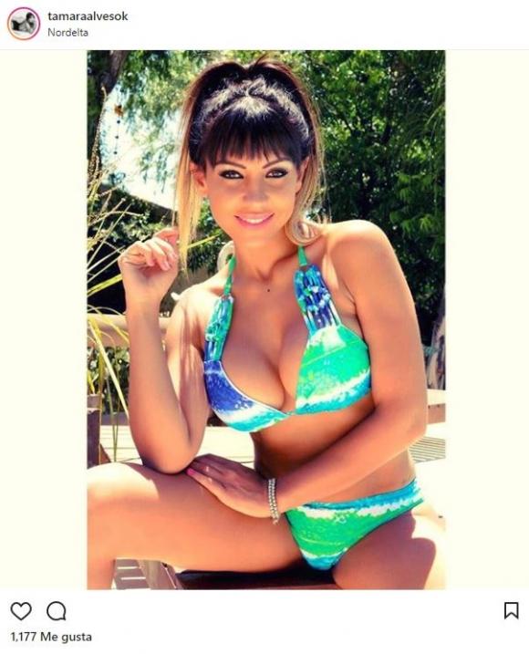Tamara Alves, una de las diosas que adelantaron el verano en traje de baño.