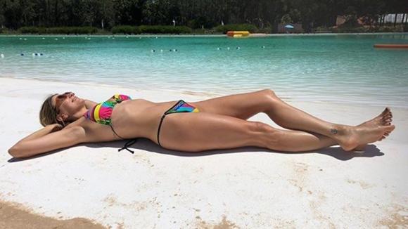 Marcela Kloosterboer, divina en sus vacaciones en Uruguay (Fotos: Instagram).