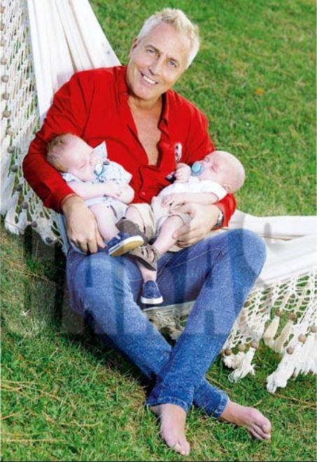 Marley y Florencia Peña y una produ  junto a sus hijos: