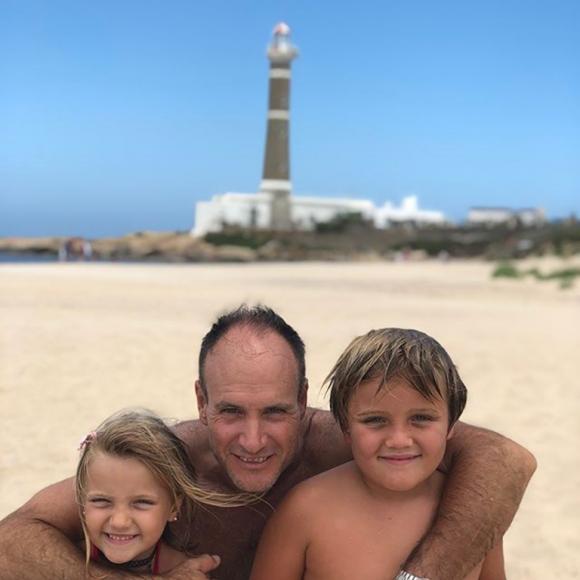 Maru Botana y su familia, de vacaciones (Fotos: Instagram).