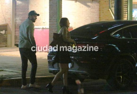 Las fotos que confirman el romance entre Pampita y Polito Pieres (Movilpress)
