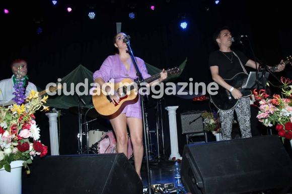 Sofía Vitola en el recital de Potra Liberada. (Foto: Movilpress)