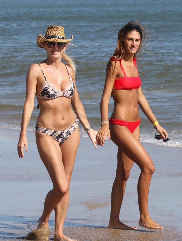 Las fotos de las famosas sin Photoshop: bellezas reales en las playas de Punta del Este. (Foto: GM Press)