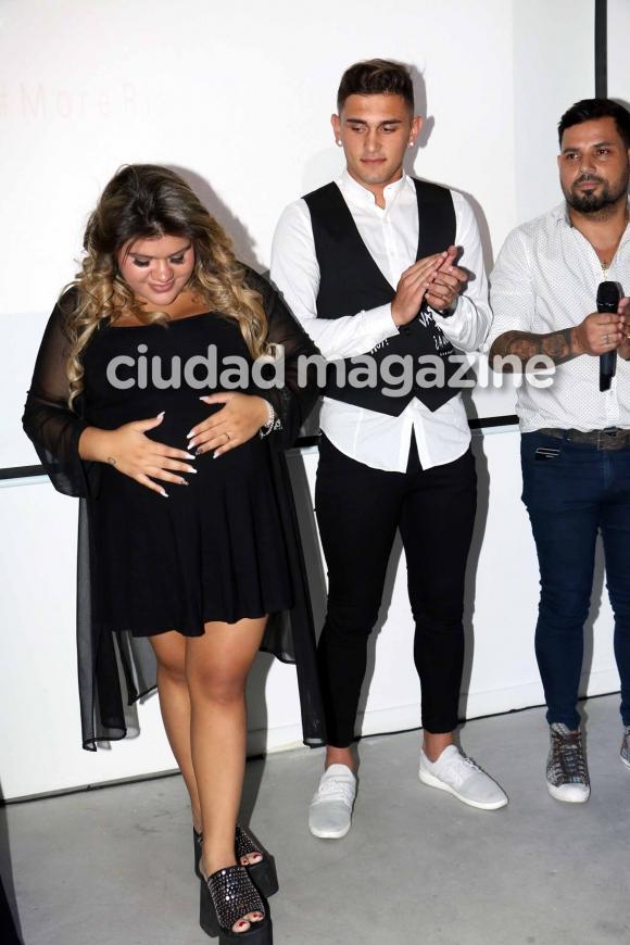 3e81c28129c Morena Rial, embarazada de siete meses, se lanzó como cantante (Fotos:  Movilpress