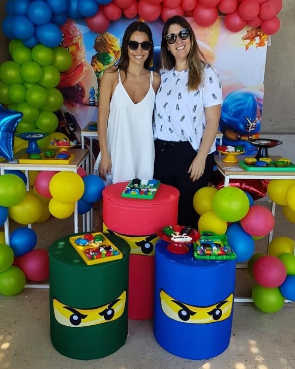 El festejo de cumpleaños de Benicio, el hijo de Pampita. Foto: Instagram