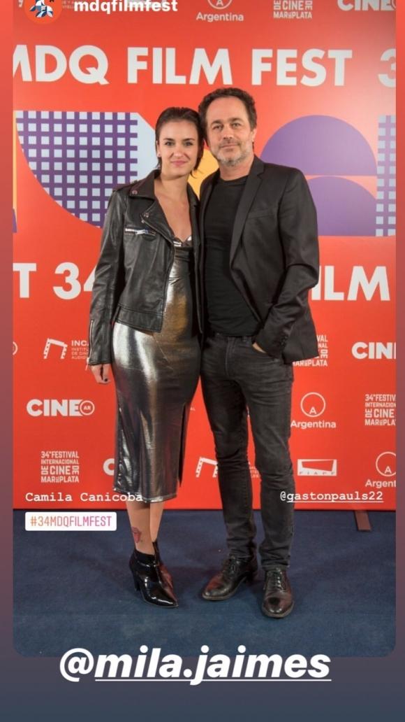 Resultado de imagen para Gastón Pauls presentó a su nueva novia, Camila Canicoba Jaimes