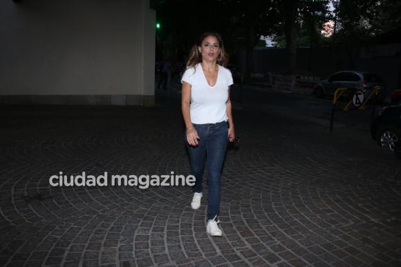 Los famosos dijeron presente en el velatorio a Santiago Bal. Fotos: Movilpress