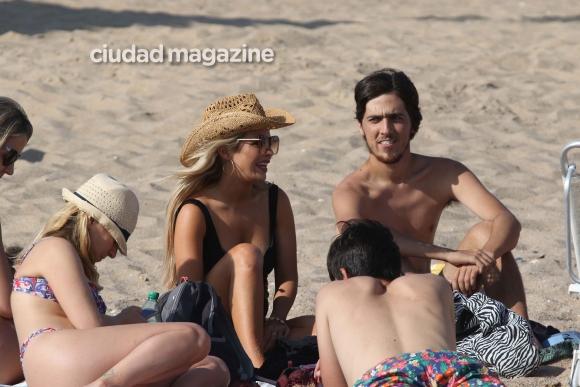 Las fotos de la escapada de Alejandra Maglietti al parador Bagatelle de Punta del Este. (Foto: Matías Souto GM Press)