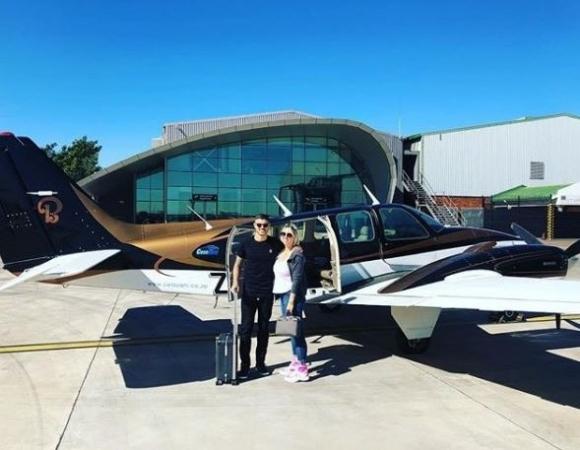 Las exóticas vacaciones de Wanda Nara y Mauro Icardi en Sudáfrica