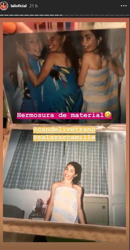 Camila Salazar compartió sus fotos retro con Lali Espósito, la China Suárez, Cande Vetrano y Gastón Soffritti